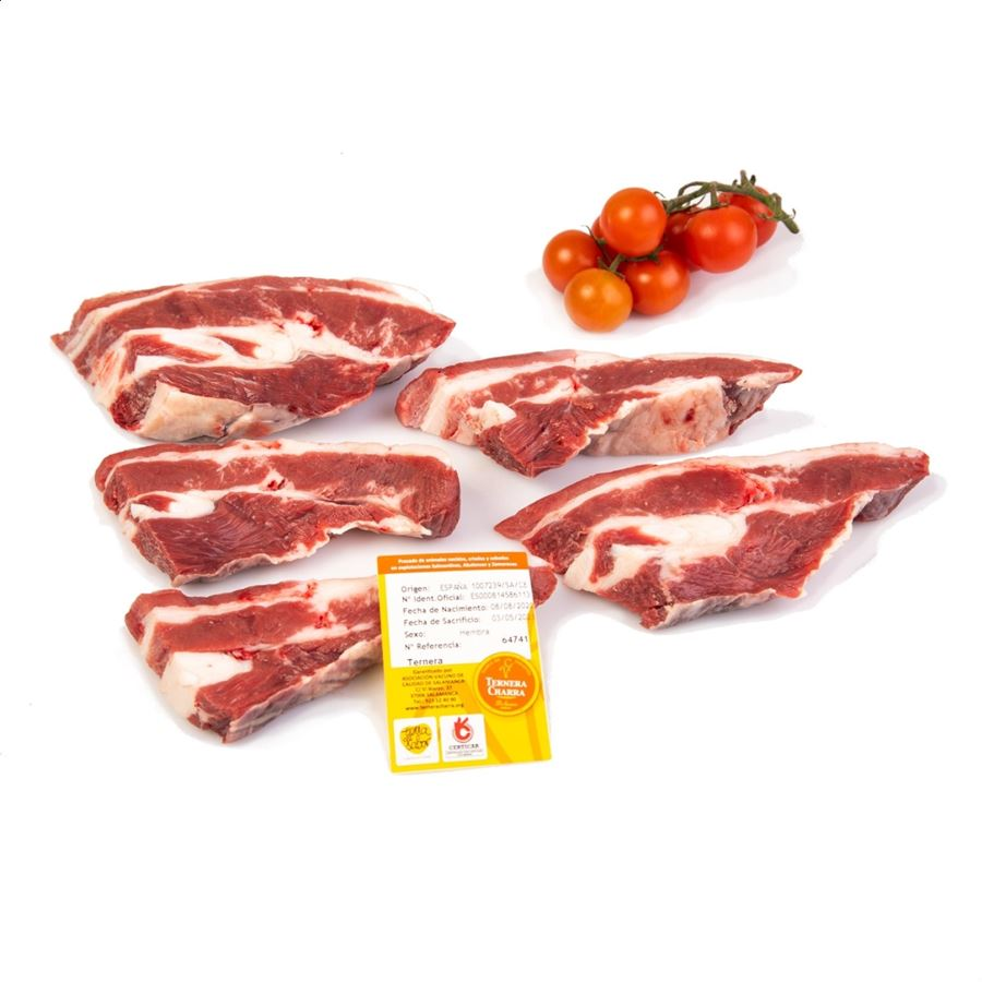 Ternera Charra - Churrasco de ternera sin hueso 3Kg